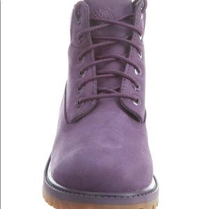 "AG30 Timberland 6"" Boot Purple 2 Y"